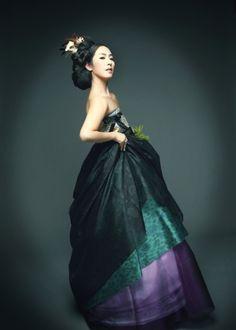 The modern hanbok on pinterest korean hanbok hanbok wedding and