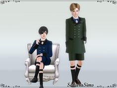 Gothic Outfit 02 by Sakura - Sims 3 Downloads CC Caboodle