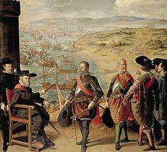 La défense de Cadix, 1634, Francisco de Zurbarán, Madrid, Museo del Prado