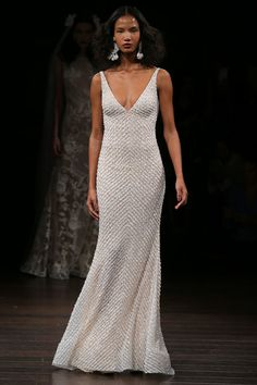 This simple yet beautiful Naeem Khan sheath dress. | 27 Ridiculously Pretty Wedding Dresses That'll Make You Forget All Your Worries