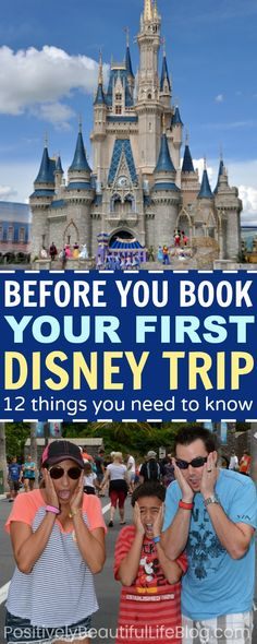 12 tips that you should know before going to Disney World. These tips will save you money, time, and research.