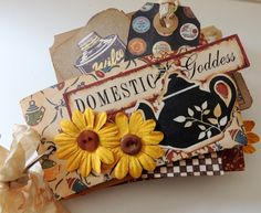 Domestic Goddess Mini Album Diva Goddess Mini by InsideTheBeehive