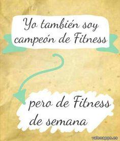 Yo tambien soy campeon de fitness...