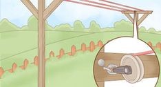 How to Install an Outdoor Outlet (with Pictures) - wikiHow Ss Bolts, Outdoor Outlet, Concrete Posts, Trench Drain, Landscape Timbers, Steel Rod, Electrical Wiring, Clothes Line, Wheelbarrow
