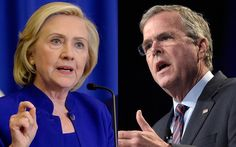 People in the media keep saying that Hillary Clinton and Jeb Bush are bound to be their parties' nominees for president. New polls suggest the public isn't ready to agree.