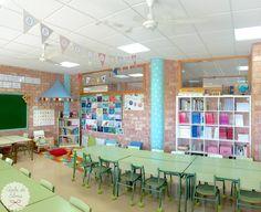 Aula de Elena: ¡Columnas decoradas, aula acabada!