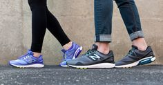 These shoes were made for walking....but they can be used for running too!