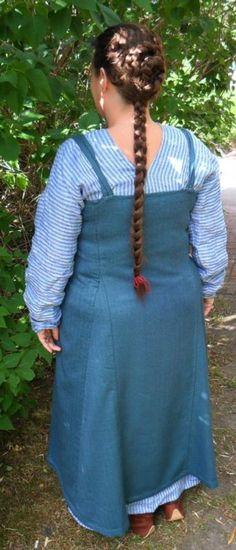 Eva's journal - Viking outfit based on the Köstrup find.