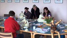 Nana Workshop Pappmachee Teil 1 mit Sonja Ziemann