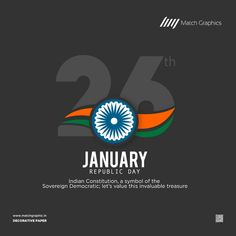 Indian Constitution, a symbol of the Sovereign Democratic; let's value this invaluable treasure Happy Republic Day. Republic Day Indian, Indian Constitution, Indian Flag, National Days, Nature Decor, Paper Decorations, Symbols, Let It Be, Happy