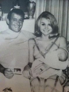 Norman Reedus' parents and baby Norman