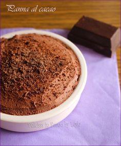 Panna al cacao cremosa: la Schokosahne