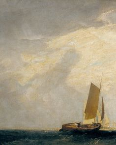 """"""" Joseph Mallord William Turner - Fishing upon the Blythe-Sand, Tide Setting In """""""