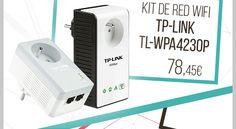 Kit para #PowerLine TP-Link TL-WPA4230P KIT.  http://www.opirata.com/es/para-powerline-tplink-tlwpa4230p-p-29941.html