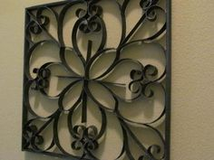 Faux Wrought Iron Decorations « Country & Victorian Times