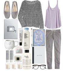 You'll never sink when you are with me by theaserr on Polyvore featuring James Perse, Rebecca Taylor, J.Crew, UGG Australia, Illesteva, C.O. Bigelow, Korres, philosophy, Baobab Collection and cozy