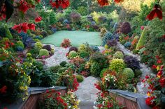 Balcony view of the first frost of autumn by Four Seasons Garden, via Flickr