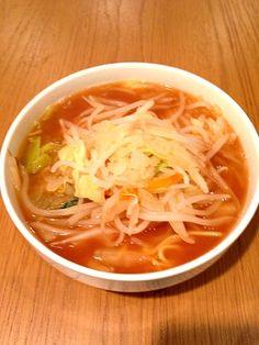野菜は体を気持ちよくする(`_´)ゞ - 23件のもぐもぐ - 朝飯 タンメン by Grubbin