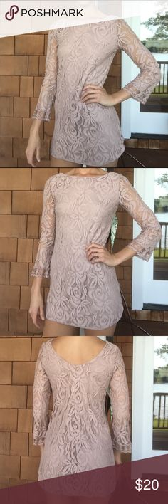 Stunning Lace Cocktail Dress Literally LOVE this dress!!!! The back scoops down which is SO pretty!!! The material is very classy and you'll feel beautiful wearing this dress!! Dresses Mini