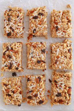 No Bake Granola Bars (Nut