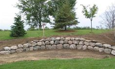 boulder retaining wall images - Google Search