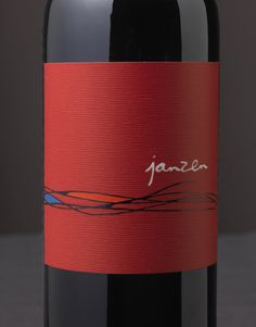 Janzen Wine Bacio Divino Cellars Napa Valley Wine Label & Package Design Napa Valley Award Winning