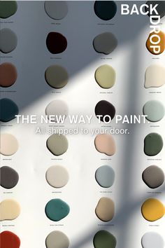 All shipped to your door. Painting Tips, House Painting, Colour Schemes, Color Trends, Wall Colors, House Colors, Apothecary Decor, Architecture Design, Paint Colors For Home