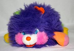 This is an original Vintage 1980s Mini Purple Popples Doll. Doll is in amazing condition, the fur is still shiny