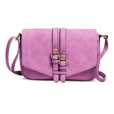 Women's Veritcal Buckles Crossbody Handbag