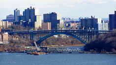 Riverdale, Spuyten Duyvil, Inwood Hill Park, Amtrak Draw Bridge and Henry Hudson Bridge, Confluence of Hudson River and Harlem River
