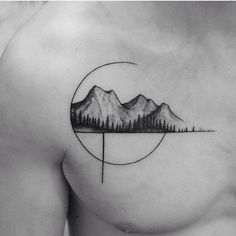T-shirt ideas, trees and mountains!