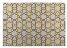 Sliding Hexagon Indoor/Outdoor Doormat