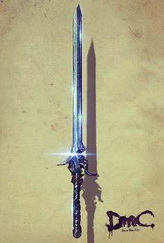 The Rebellion sword from Devil May Cry, by Alessandro Taini.