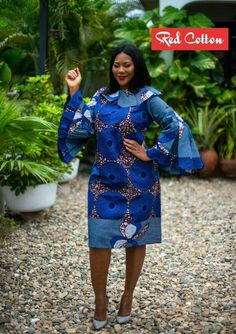 Exotic Ankara Gowns for 2018 Classy and Exotic Ladies - WearitAfrica Aso Ebi Lace Styles, Kente Styles, Ankara Gown Styles, Ankara Gowns, Unique Ankara Styles, Ankara Dress, African Wear Dresses, African Fashion Ankara, Latest African Fashion Dresses