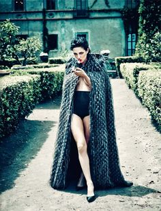 Asia Argento by Francesco Carozzini for Vogue Italia September 2013