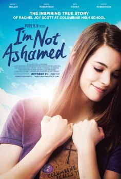 More than a movie telling a powerful, inspiring story of faith, I'M NOT ASHAMED is also a call to action! You are invited to join Pure Flix Alliance and thousands of ministries across the nation in the I AM HOPE movement inspired by Rachel Joy Scott's faith story and her desire to see a generation boldly proclaim Jesus' name.