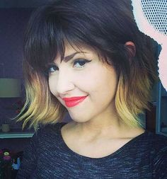 35  Bob Hairstyles With Bangs | http://www.short-hairstyles.co/35-bob-hairstyles-with-bangs.html