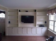 Image result for custom tv cabinets built in