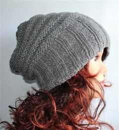d07b7820a214f UNISEX Sacking Winter Hat - Autumn Accessories - Slouchy Beanie Women Hat -  Oversized Hat - Chunky Knit - Mens Slouchy beanie more COLORS