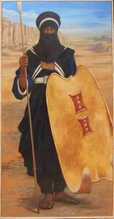 Algeria-guerrier touareg