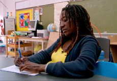 """A Newark, N. public high school teacher races against the clock to find a place in the world for her students with autism before they graduate and """"age out"""" of a unique and caring support system. Educational Assistant, Best Documentaries, Best Kept Secret, Story Video, Autism Spectrum Disorder, Social Stories, Best Sites, Documentary Film, Feature Film"""