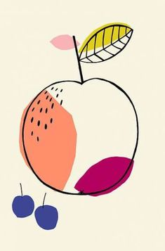59 Ideas fruit illustration collage for 2019 Fruit Illustration, Watercolor Illustration, Watercolor Drawing, Drawing Art, Fruit Logo, Fruits Drawing, Fruit Picture, Fruit Decorations, Fruit Photography
