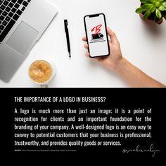 The importance of a Logo in business. Social Media Branding, Business Logo, Logos, Logo