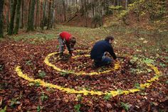 The land art of Sylvain Meyer is all about getting in touch with nature