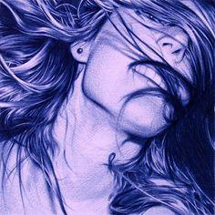 Artist Juan Francisco Casas's photorealistic drawings made with a bic pen. enpundit