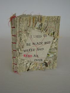 handwoven newspaper......Barbara Bussolari