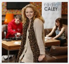 Lily Cole and Jemma McGuffie at GCU