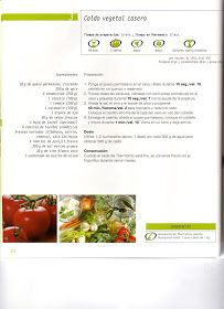 Caldo casero vegetal
