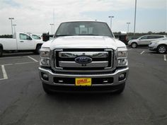 2014 Ford F-350SuperDuty Lariat 4x4 Lariat 4dr Crew Cab 6.8 ft. SB SRW Pickup Pickup 4 Doors White for sale in Two harbors, MN Source: http://www.usedcarsgroup.com/new-ford-f_350_super_duty-for-sale