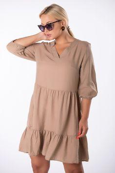VEĽKOSTNÁ TABUĽKAVeľkosťObvod hrudníkaObvod pásuCelková dĺžkaS/M100,0098,0088,00L/XL102,00100,0095,00 Skater Dress, Dress Up, Pink Dress, Bodycon Fashion, Oversized Dress, Ruffle Sleeve, Cold Shoulder Dress, Ruffles, Short Sleeve Dresses